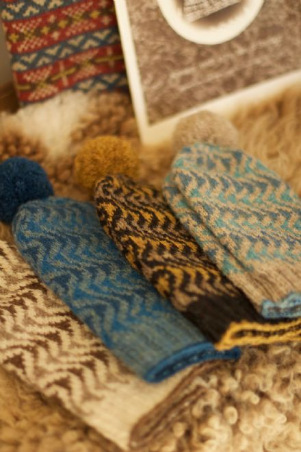 Bousta Beanie - Shetland Wool Week 2017 - Gudrun Johnston